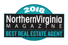 2018 Winner Best Real Estate Agent 2018 Northern Virginia Magazine